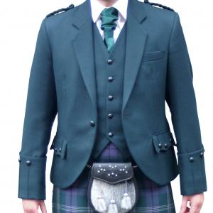 Green Argyll Jacket & Vest
