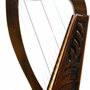 "24"" 12 STRINGS HARP+ BAG Irish Celtic Style"