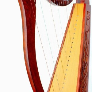BRAND NEW 22 STRINGS HARP WITH CASE + EXTRA STRINGS