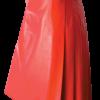 Red Gladiator Genuine Leather Kilt