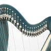 New 22 Strings Harp, Fully Levered and Carry Bag