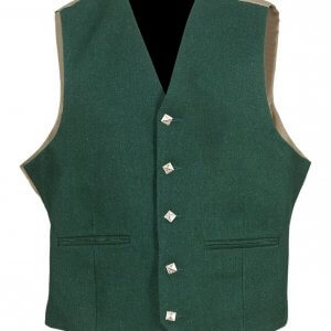 Green Argyle Kilt Traditional Jacket and Waistcoat