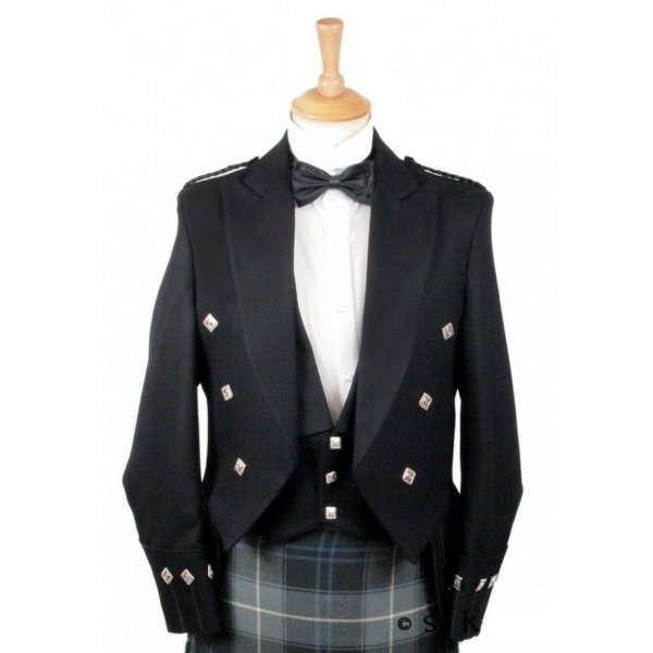 Regulation Doublet Kilt Jacket With Waistcoat