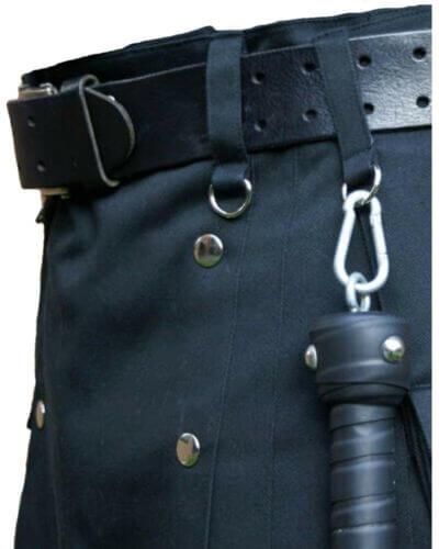New Latest Navy Blue Scottish Fashion Utility Kilts