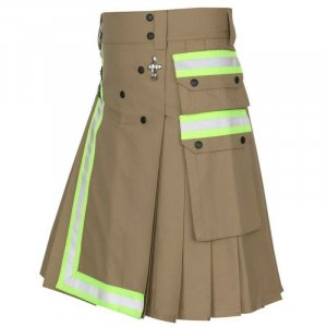 New Khaki Tactical Duty Utility Kilt