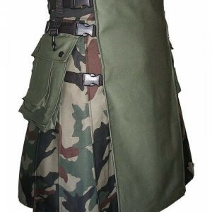 Stylish Scottish Fashion Camouflage Kilt Tactical Camo Kilts For Men