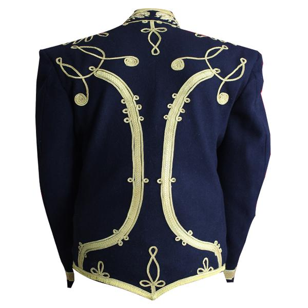 Hussars Military Dolman – Gilt Braid Collar and Aiguillette