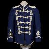 Dark Blue German Hussar Atilla Pre War Jacket