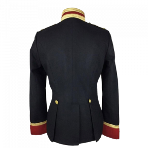 Women Wool Military hussar Jacket Army Officer Band Coat