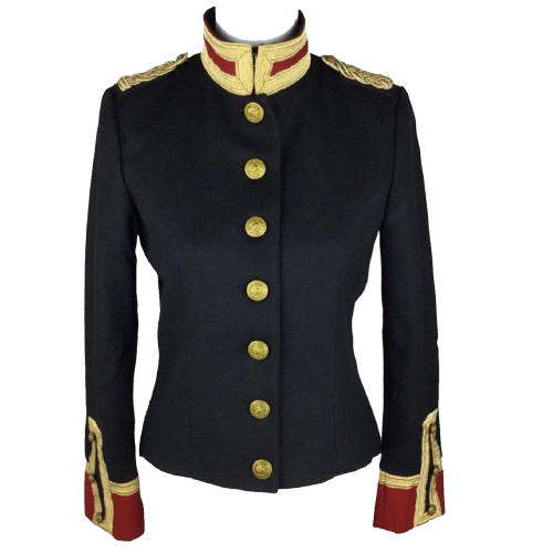 Women Wool Military hussar Jacket Army Officer Band CoatWomen Wool Military hussar Jacket Army Officer Band Coat