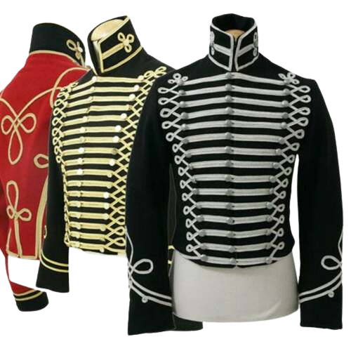 Hussars Pelisse (Plain) British war jacket civil war jacket