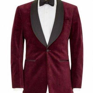New Custom Made Smoking Jacket Classic Wear Modern Jacket