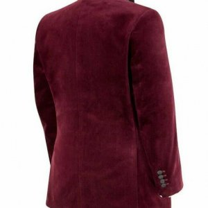 New Custom Made Smoking Jacket Classic Wear Modern Jacket