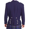 Prince Charlie Navy Blue Wool Jacket &Waistcoat Set